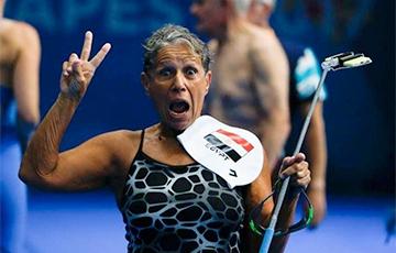 Пловчиха из Египта готовится к участию на чемпионате мира в 76 лет