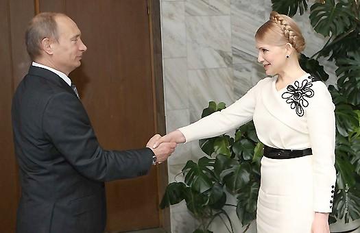 Тимошенко и Путин закончили встречу тет-а-тет