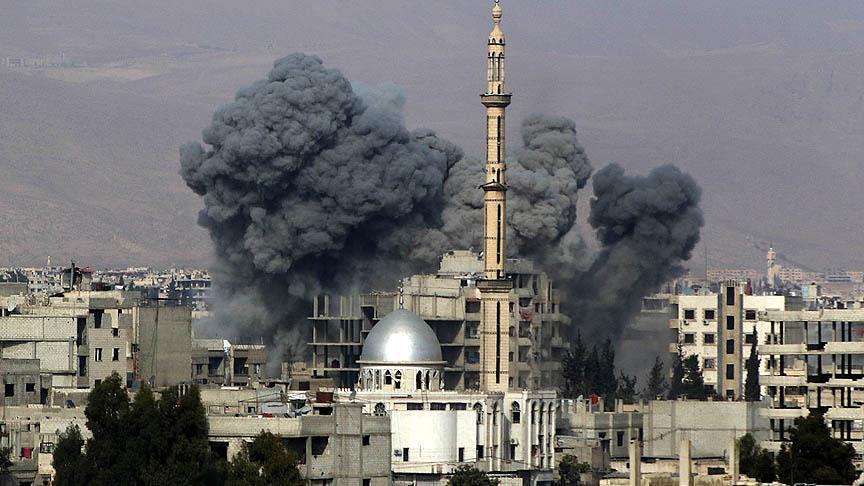 Коалиция сбросила на Ирак и Сирию 100 тысяч бомб за три года