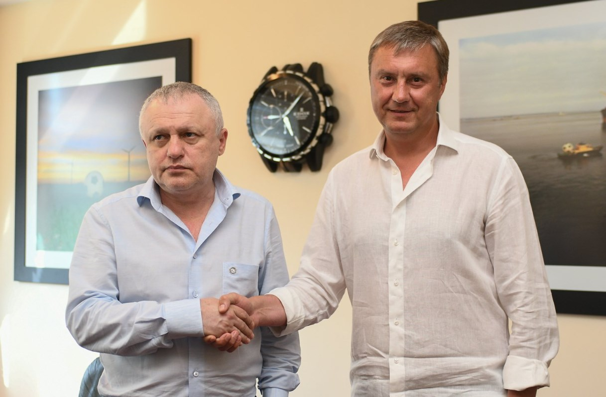 "Хацкевич остается у руля ""Динамо"""