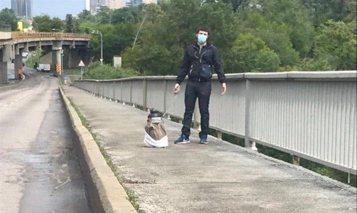 """В полиции рассказали детали о """"минере"""" моста Метро"""