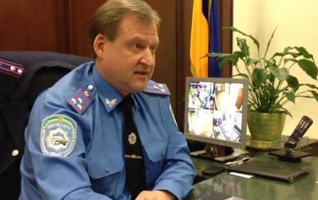 ГПУ сообщила о подозрении бывшему начальнику ГАИ Киева