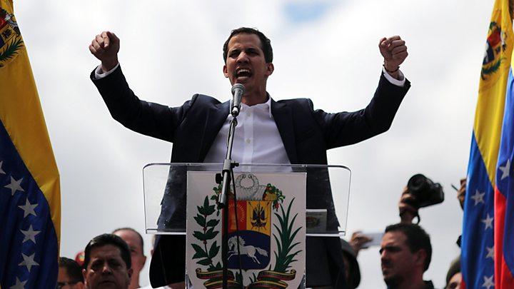 В Венесуэле власть и оппозиция избрали отдельных глав парламента
