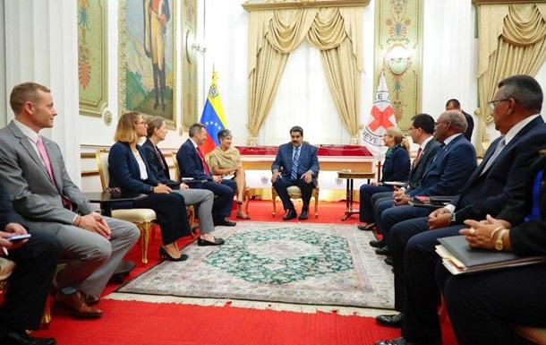 Мадуро дал согласие принять гуманитарку от Красного креста