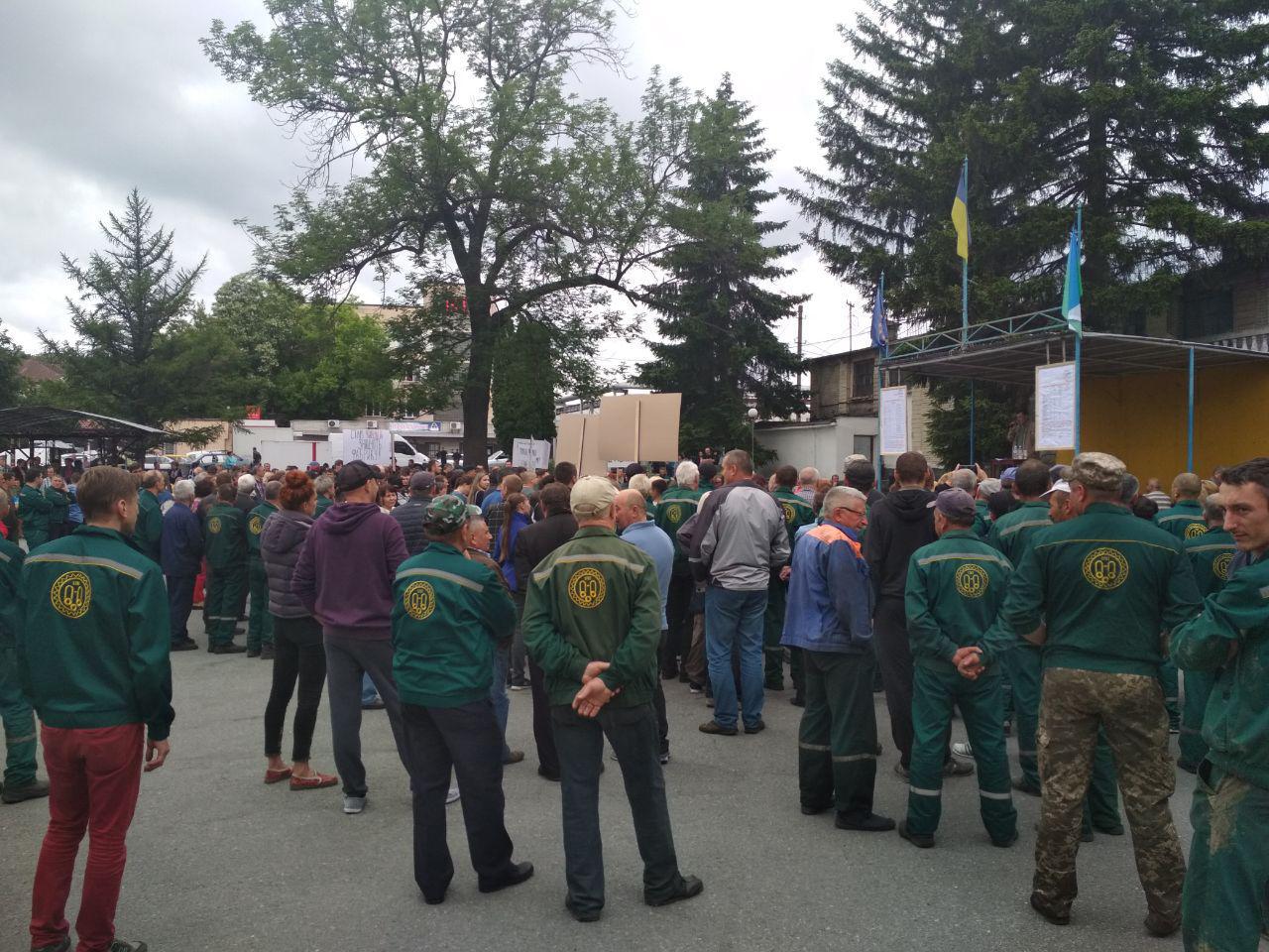Защитить Понинковскую фабрику! Люди против Литвина