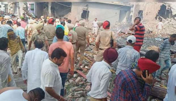 В Индии взорвался завод по производству фейерверков: погибли 14 человек