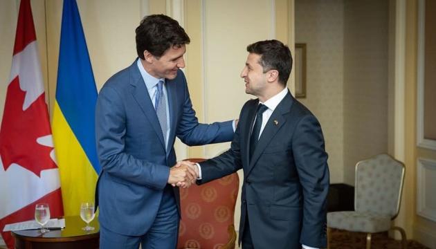 Трюдо хочет приблизить безвиз с Канадой, – Зеленский