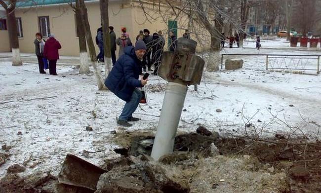 Краматорск обстреляли из Смерча, - Генштаб