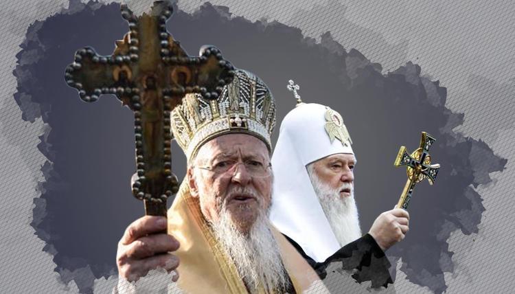В Киеве могут появится улицы Филарета и Варфоломея