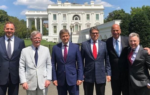 Данилюк в Вашингтоне провел переговоры с Болтоном и Перри