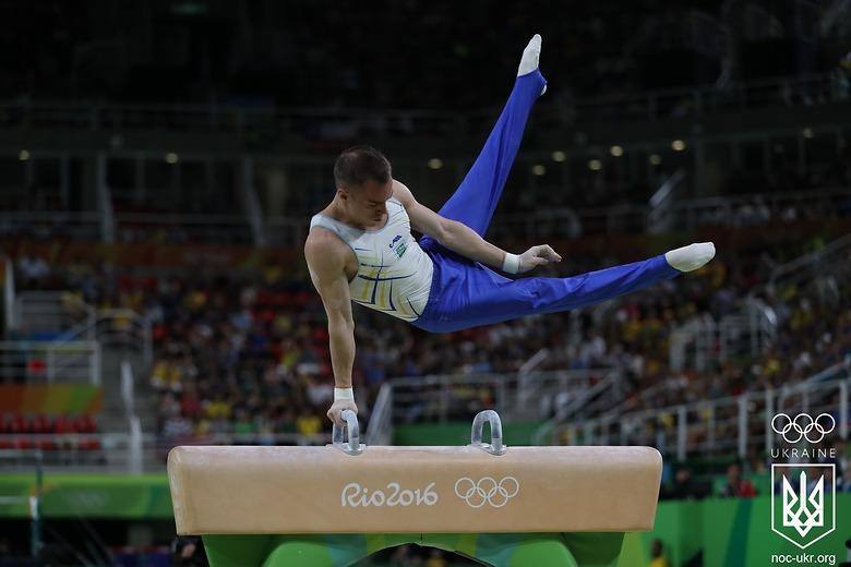 Верняев занял 8 место на соревнованиях по спортивной гимнастике на Олимп...