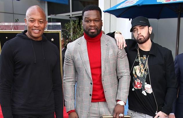Заслужил: рэпер 50 Cent получил свою звезду на Аллее славы в Голливуде