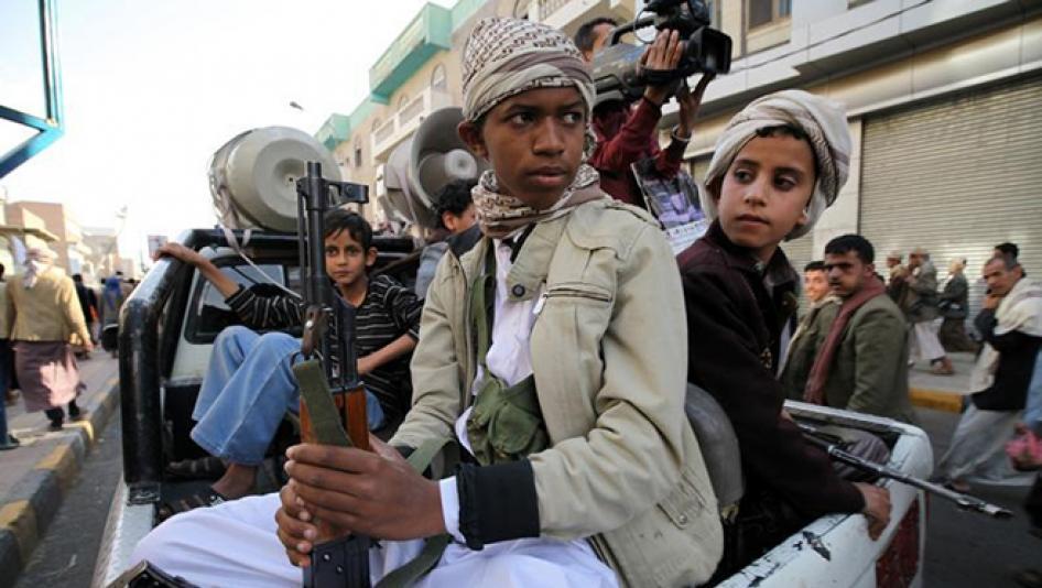 Для боевых действиях в Йемене рекрутировали более тысячи детей младше 17...