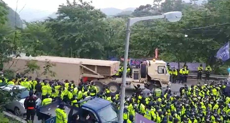 США завезли в Южную Корею новые комплексы ПРО, несмотря на протесты обще...