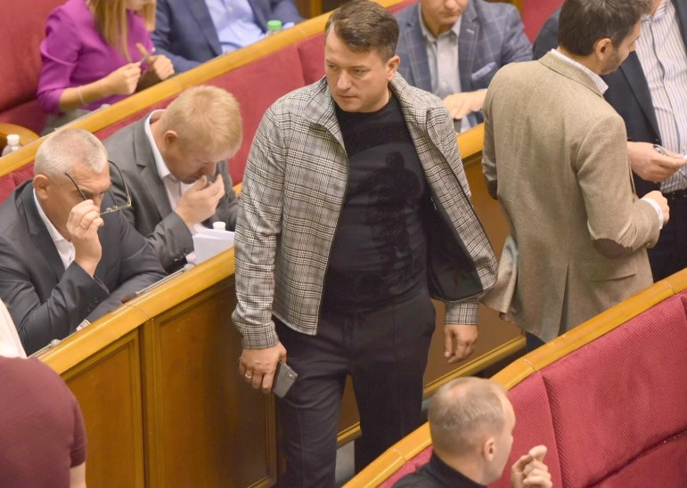 """Соломчука сняли с должности замглавы фракции """"Слуги народа"""""""