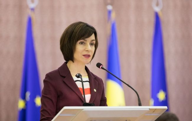 Поставки газа в Молдову зависят от Украины и РФ, – премьер Санду