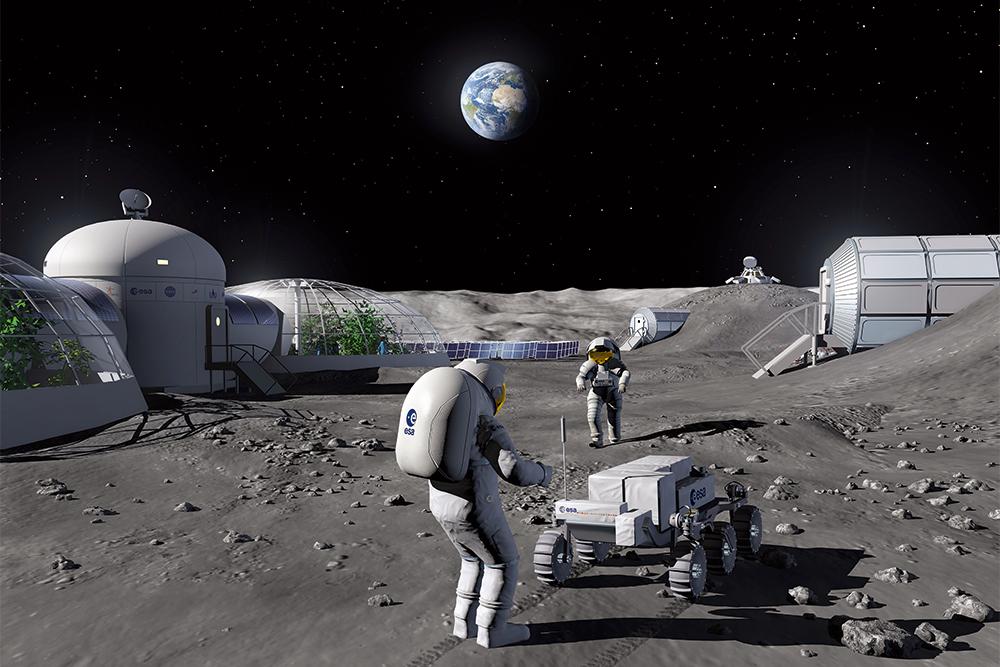Колонизируй это. Как построить базу на Луне