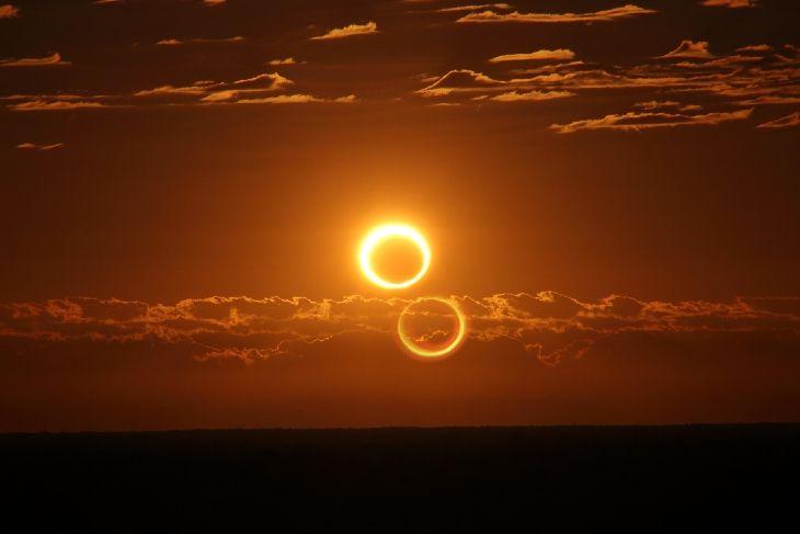 """""""Огненное кольцо"""": в воскресенье можно будет увидеть необычное солнечное..."""