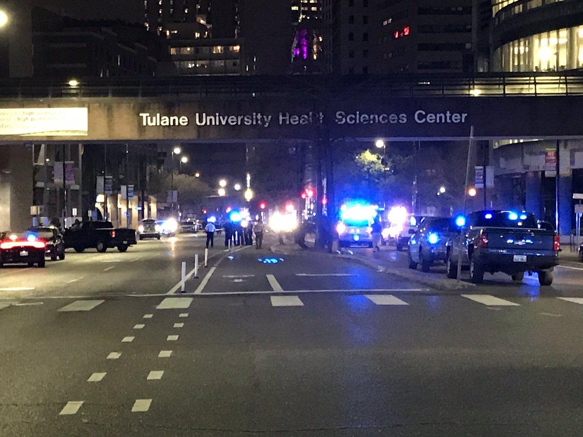 Перестрелка в Новом Орлеане: пять человек ранены
