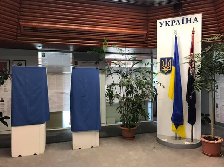 Украинцы в Австралии закончили голосование на выборах президента, – ЦИК