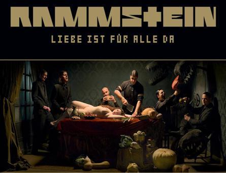 Обложку нового альбома Rammstein признали развратной