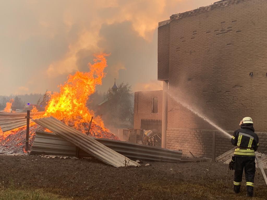 Пожары на Луганщине: количество жертв возросло