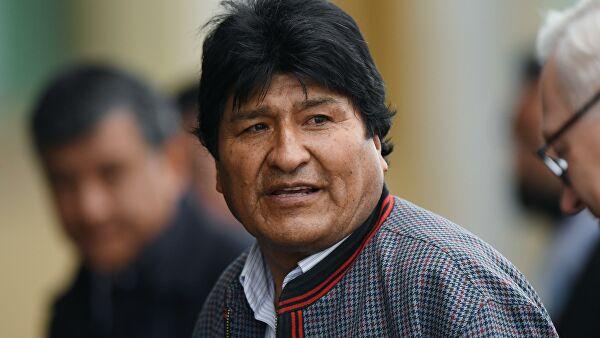Мексика предоставила политическое убежище Моралесу