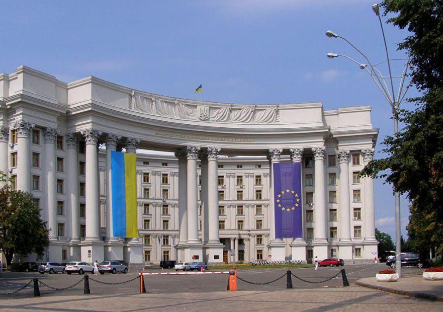 МИД Украины выражает протест из-за поездки Путина на байк-шоу в Крыму