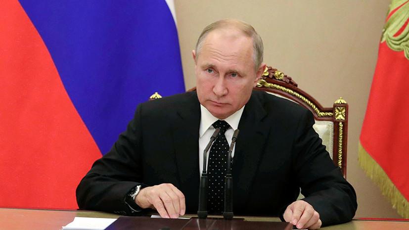 В РФ рейтинг доверия Путину упал до минимального показателя за 2,5 года,...