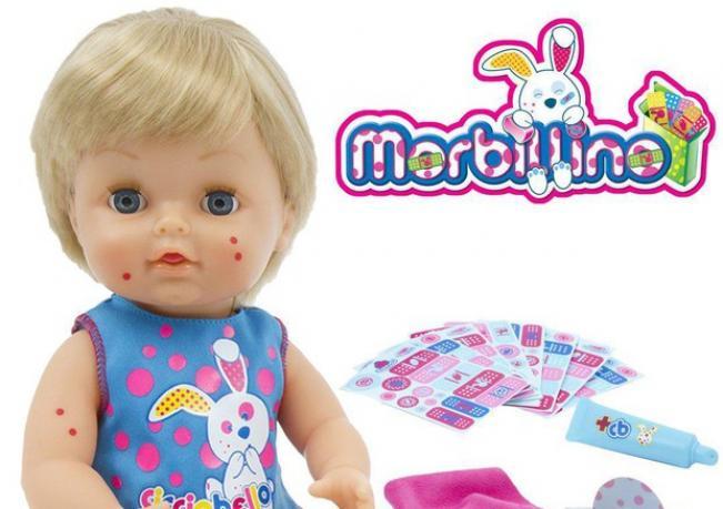 """Итальянская компания выпускает куклы, """"больные"""" корью"""