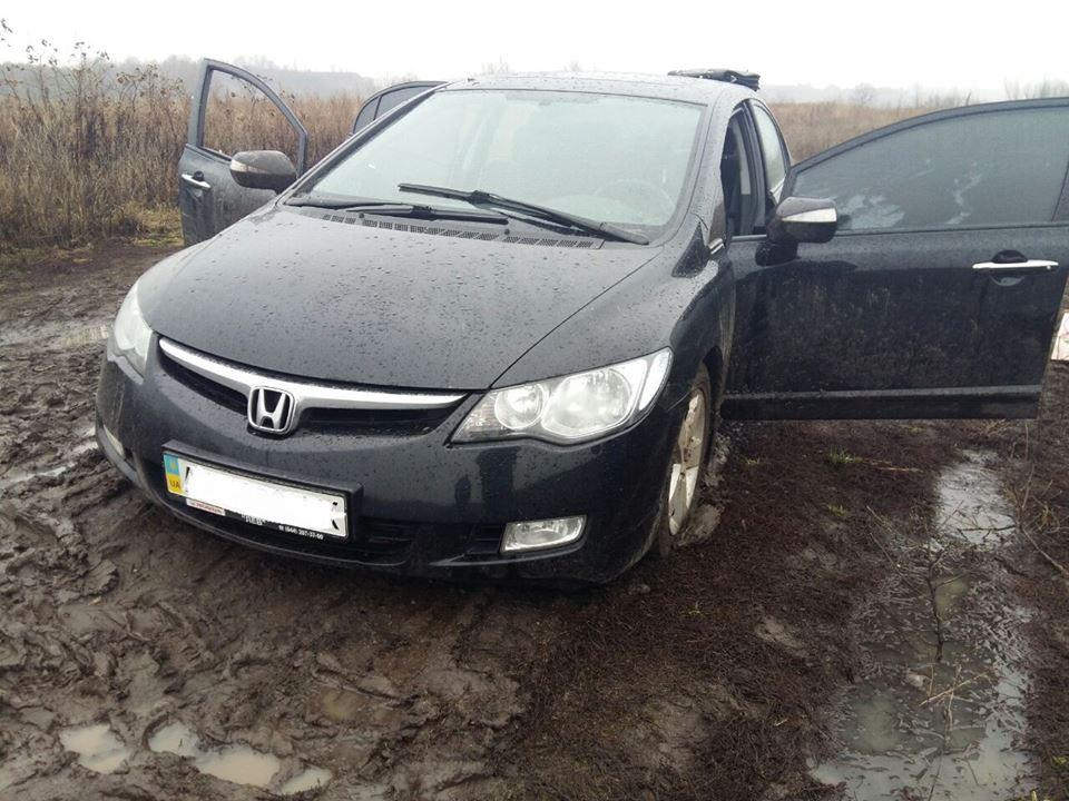 В Киеве полиция со стрельбой задержала пьяного водителя