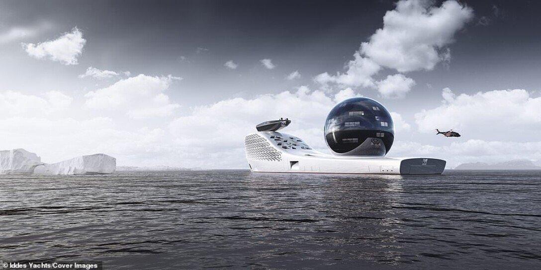 Earth 300, научное судно, исследовательское судно, ядерный реактор