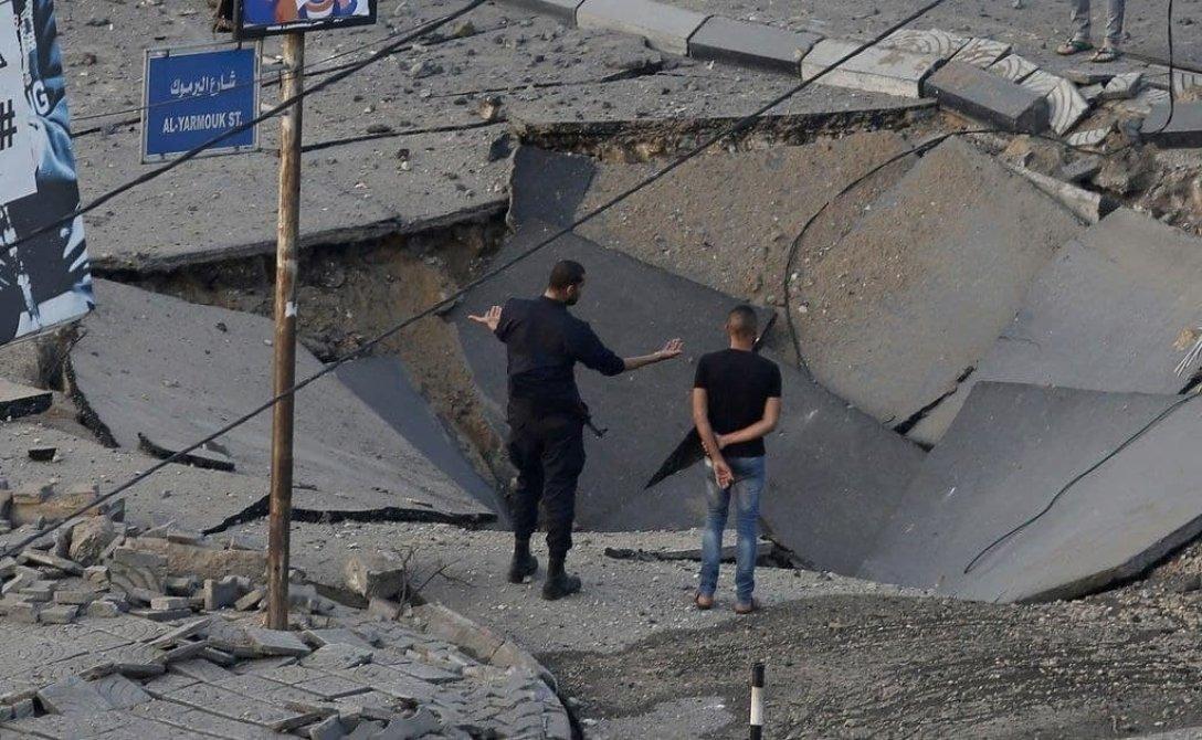 Бомбардировка, сектор Газа