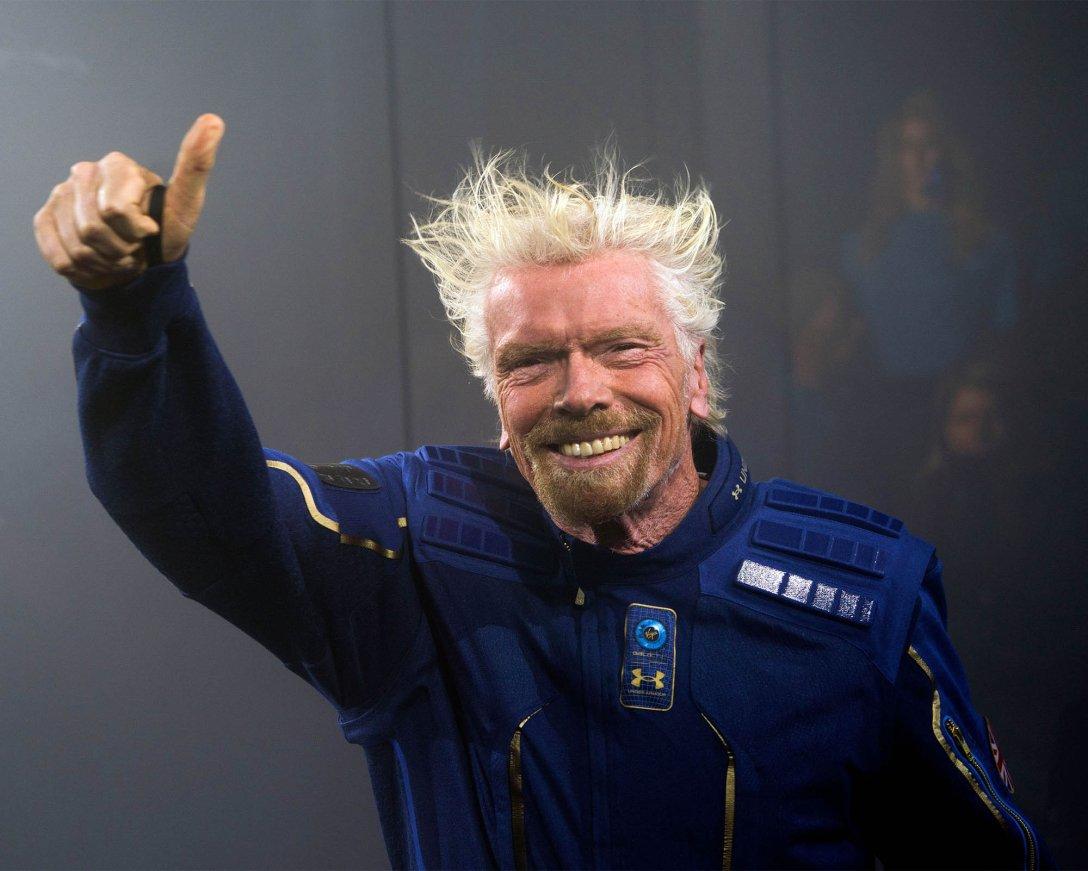 Ричард Брэнсон, космический туризм, Virgin Galactic/Virgin Orbit