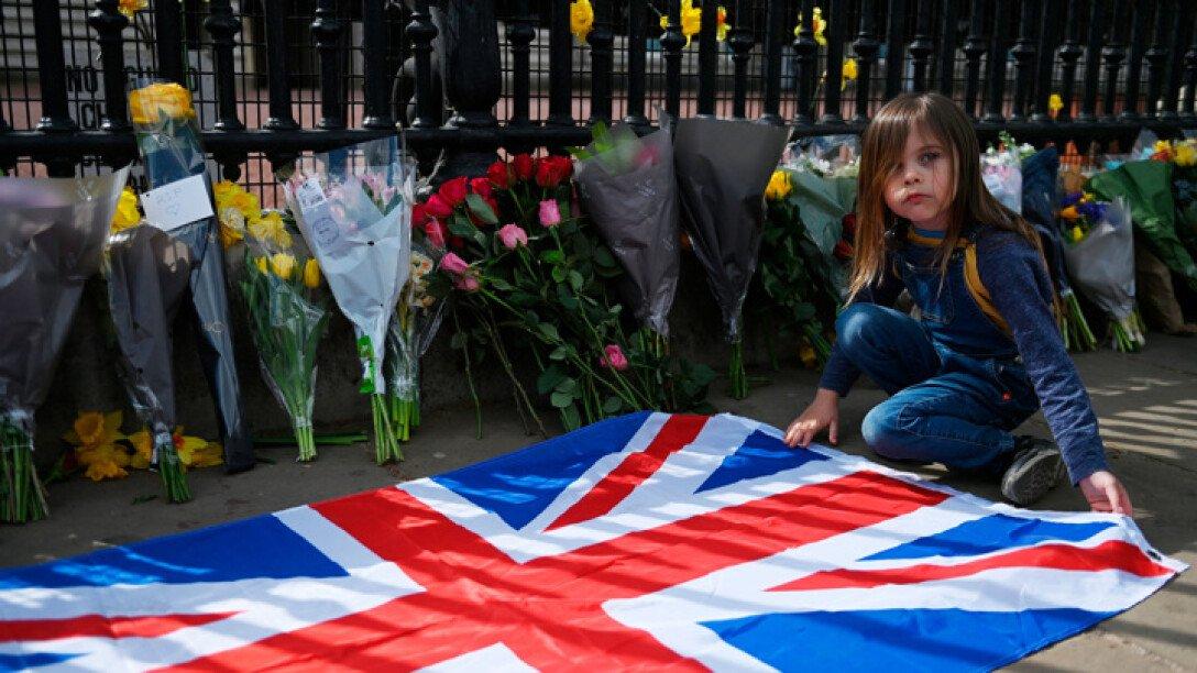 Принц Филипп, Великобритания, Похороны, Королевская семья, герцог Эдинбургский