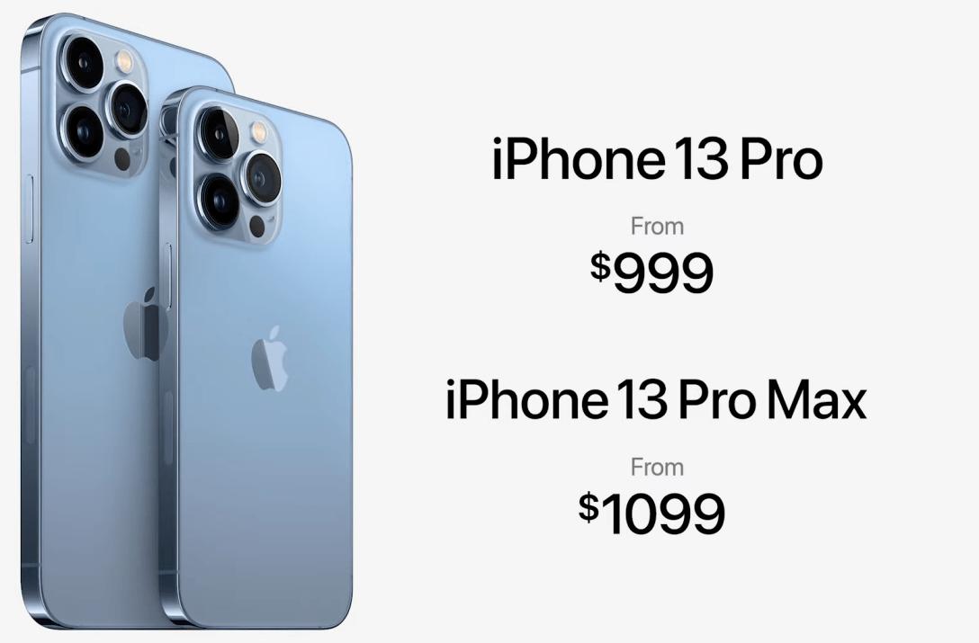 айфон 13 про макс и про