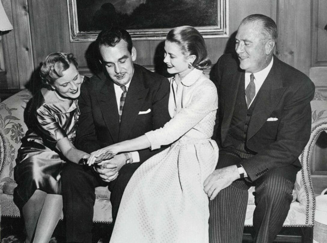 Грейс Келли, помолвка, князь Ренье, фото, Грейс Келли в молодости
