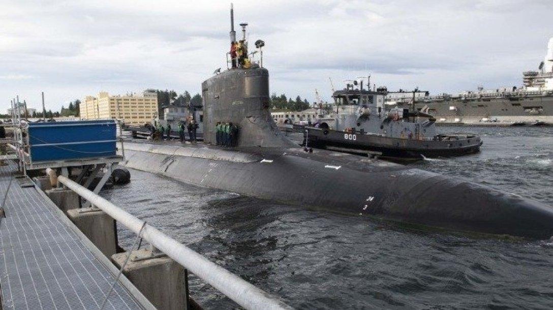 подводная лодка, сша, Connecticut