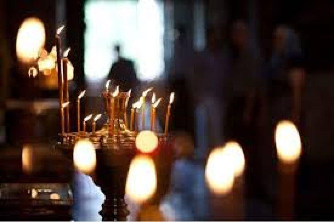 Великий пост, молитва. церковь