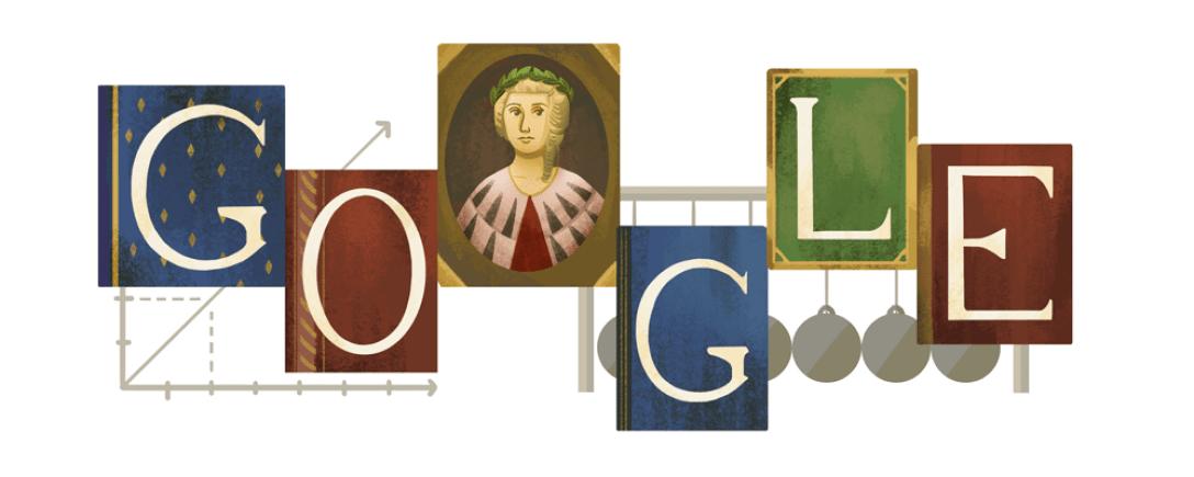 google, дудл, басси, лаура басси