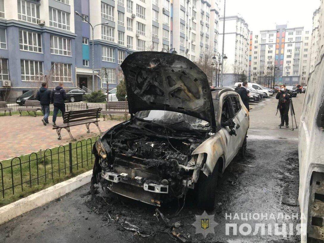 поджог, задержание, петропавловская борщаговка, ревность, полиция киевской области