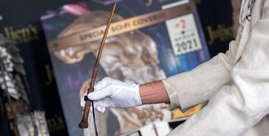 Гарри Поттер, волшебная палочка, аукцион