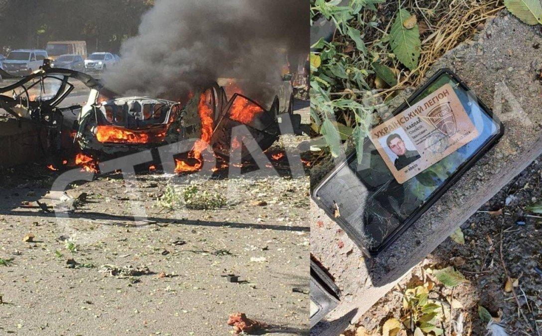 взрыв авто в днепре