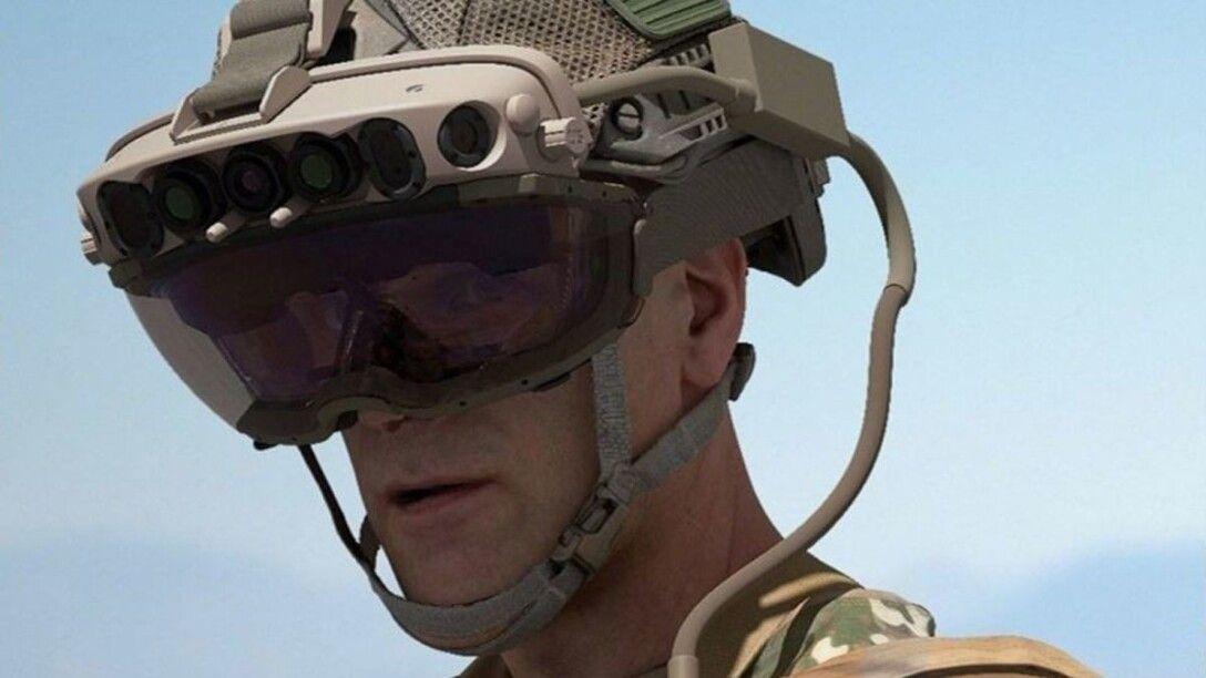 шлем дополненной реальности Microsoft