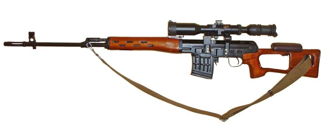 советская снайперская винтовка