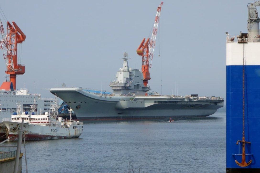 китайский авианосец Проект 002