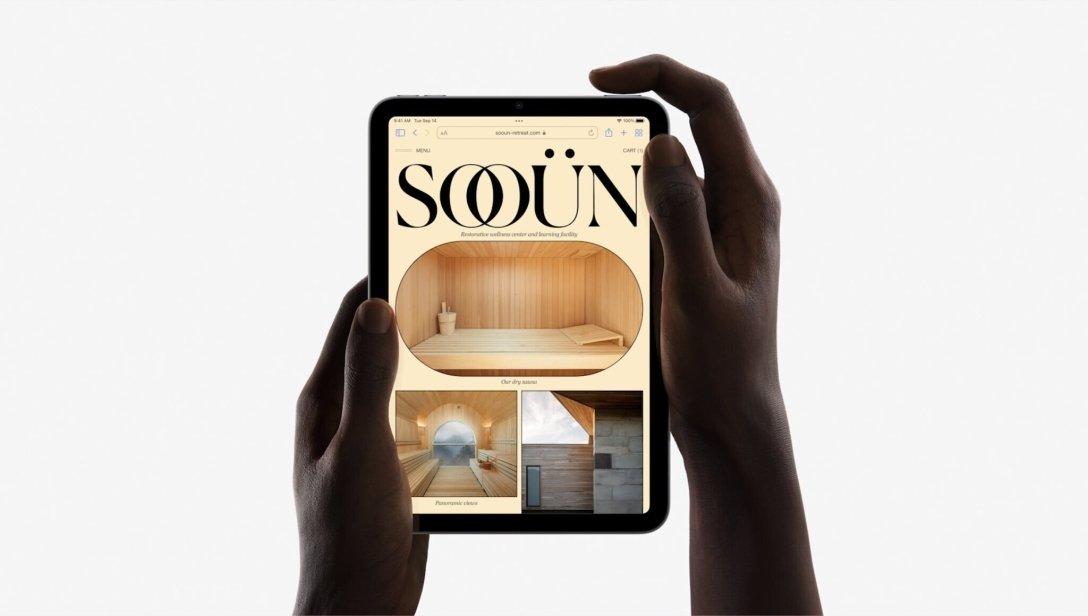 презентация Apple 2021 iPad mini