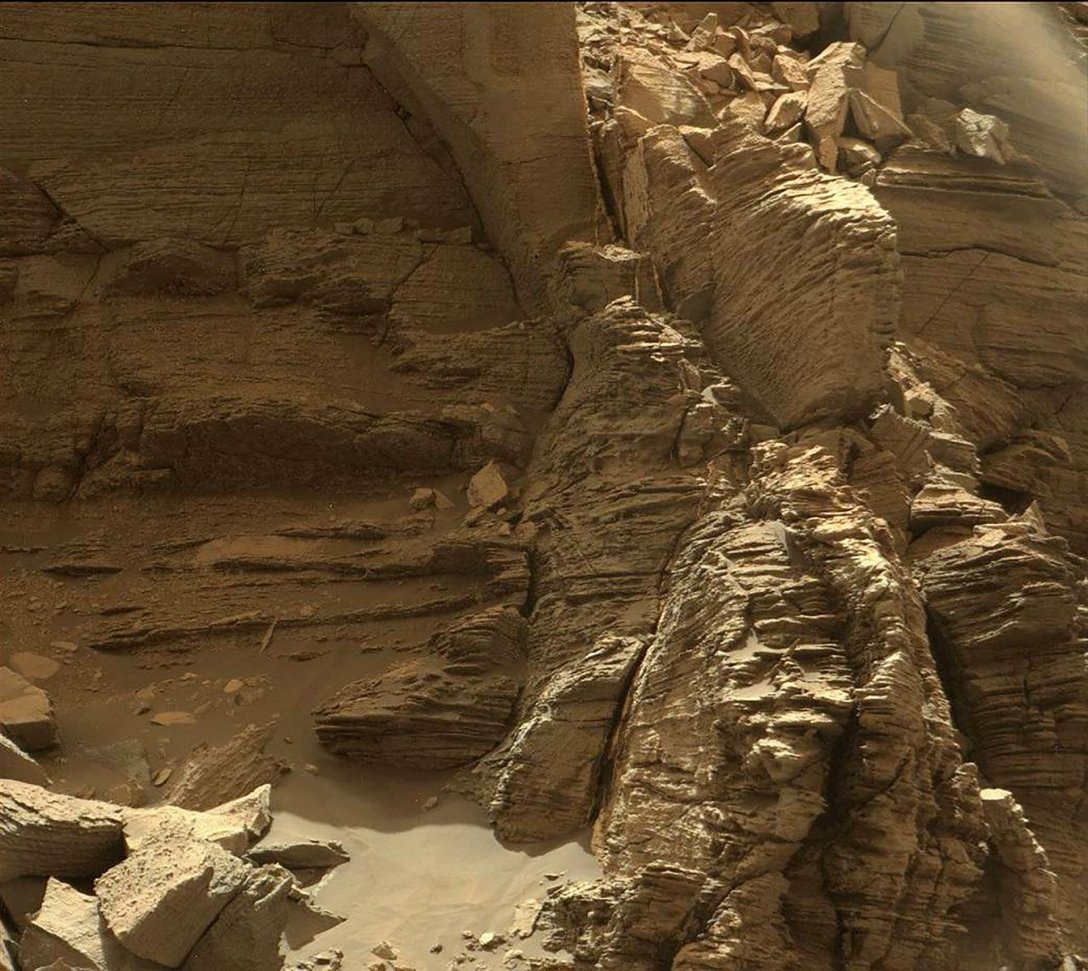 холмы, Марс, фото, Мюррей Баттс