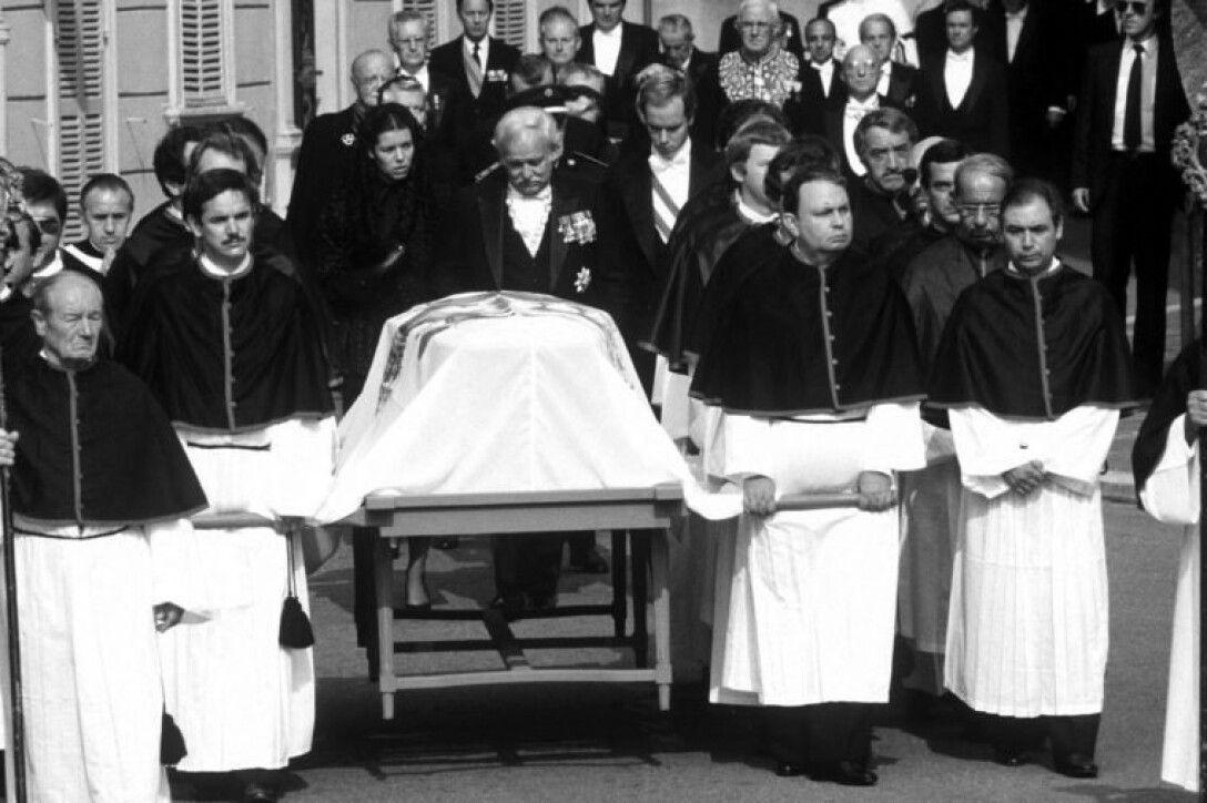 похороны Грейс Келли, княгиня Монако, фото