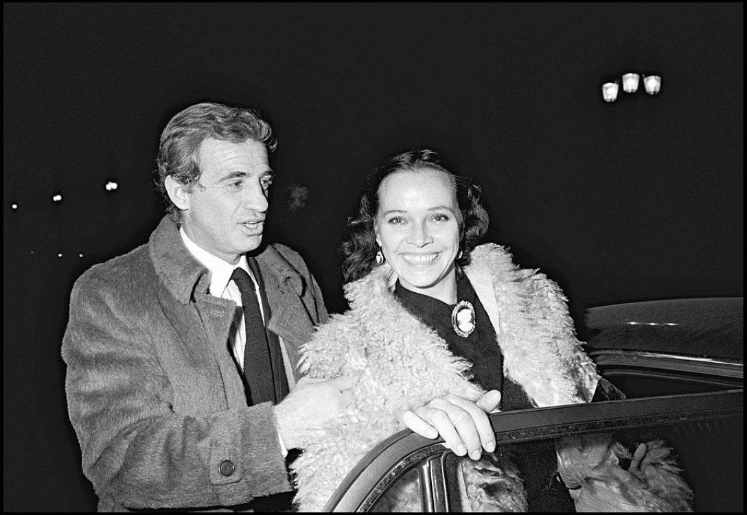 Жан-Поль Бельмондо и Лаура Антонелли
